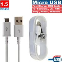 Official 1.5M Samsung Galaxy S7 S6 S5 Note 4 5 Micro USB Fast Charger Cable Lead