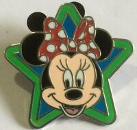 Minnie Mouse green Star LOGO icons disney pin   E