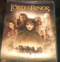 The Lord of the Rings: The Fellowship of the Ring (2002 2-Disc, Widescreen) New
