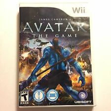 James Cameron's Avatar: The Game (Nintendo Wii, 2009) Complete Tested (P433)