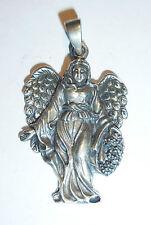 Anhänger Kette ENGEL Schutzengel ECHT Silber 925 Lichtwesen Fabelwesen Fee SS14