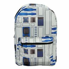 AWESOME OFFICIAL STAR WARS - R2-D2 SUBLIMATED PRINT BACKPACK BAG (BRAND NEW)