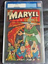 MARVEL MYSTERY COMICS #79 CGC VF- 7.5; CM-OW; scarce! Super Villains cvrs begin!