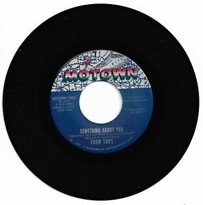 FOUR TOPS - SOMETHING ABOUT YOU - MOTOWN - VG++/EX. CONDITION