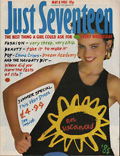 Just Seventeen Magazine 8 May 1985  China Crisis Nick Laird-Clowes Dream Academy