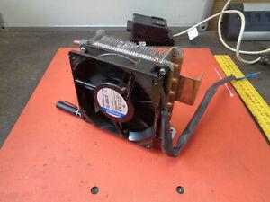 Copper water heat exchanger 240V fan small XH02E439