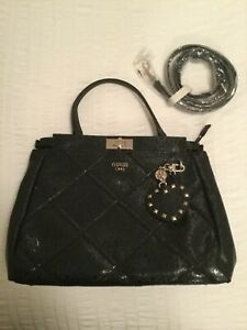 Ladies GUESS Satchel/ Bag with Detachable Adjustable Strap - NEW - FREE POSTAGE