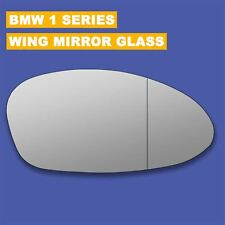 For BMW 1 Series wing mirror glass 04-10 Right Driver side Aspherical Blind Spot