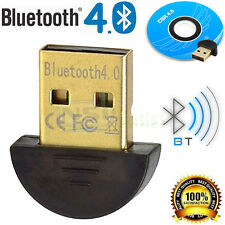 Bluetooth 4.0 USB 2.0 CSR4.0 Dongle Adapter For PC Laptop WIN XP VISTA 7 8 10