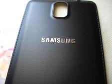 OEM SAMSUNG GALAXY NOTE 3 III BLACK BATTERY DOOR BACK COVER N900T