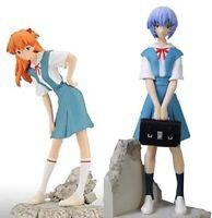 SEGA Rebuild of Evangelion Vinettiam Center of Tokyo-3 Rei & Asuka EX Figure set