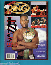 #AA. THE RING BOXING MAGAZINE, SEPTEMBER 1993