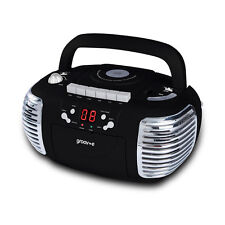Groove Boombox, Portable CD Player, Radio