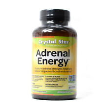Crystal Star Adrenal Energy Boost - 60 Capsules