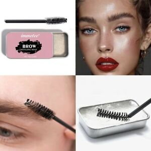Eyebrow Shaping Styling Soap Long Lasting Eye Brow Makeup Gel Wax with Brush