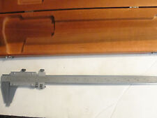 """Starrett 123 Series 14 Vernier Caliper,Steel 14"""",Inside/Outside Measurements"""