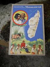 """Ancienne publicité Lion Noir """" les colonies Françaises Madagascar"""""""