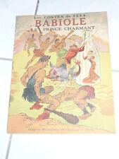 livre pour enfants les contes de fees babiole ou le prince charmant 1949