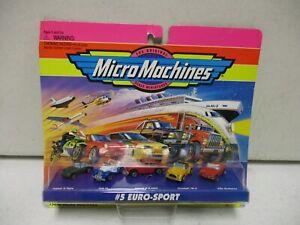 1995 Micro Machines #5 Euro-Sport with Jaguar, MG-TF, Triumph