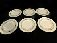 H2- Royal Doulton England Bone China Pastorale Salad Plates Lot of 6