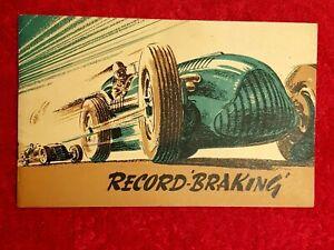Record Braking 1947 Ferodo Brakes 1947 Publication Land Speed Record John Cobb