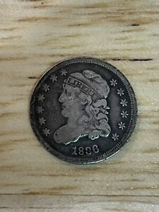 1836 Capped Bust Half Dime, 4/30/21, Free Shipping