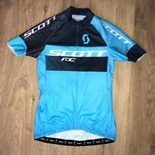 Scott RC Schoeller rare womens ladies blue cycling jersey size S