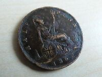 Victoria Half-Penny Choose your date 1837-1901 Each Coin has its own Pictures