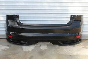 2013 2014 Ford Focus ST oem complete rear bumper cover tuxedo black READ