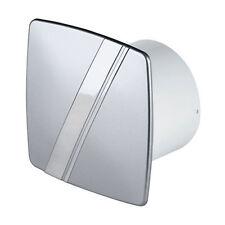 "Bathroom Extractor Fan Timer 100mm / 4"" Shower Kitchen Silver LS-100 T"