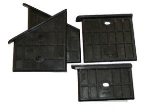 4x Scheppach HL 800 Gleitplatten Führungsplatten Holzspalter Spalter -  Oben