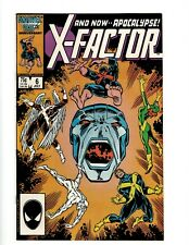 X-Factor # 6 NM Marvel Comic Book 1st Apocalypse Appearance X-Men Wolverine OF2