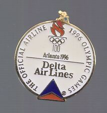 1996 Delta Airlines Olympic Pin Atlanta Official Airline