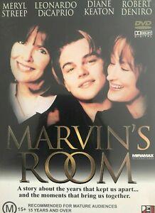 Marvins Room DVD Leonardo DiCaprio 1996 Robert Deniro Meryl Streep - AUST REG 4