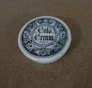 Antique Cold cream Pot lid 6.5 cm
