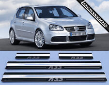 VW Golf Mk5 R32 (05 to 09) 4 Door Stainless Steel Sill Protectors / Kick Plates