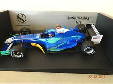 Minichamps 1/18 Sauber Petronas J Villeneuve 2005 showcar limited Edition 1/1602