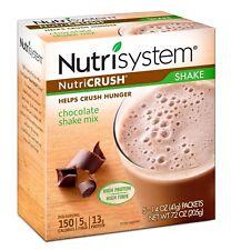 NUTRISYSTEM NutriCrush Chocolate Shake Mix 5 packets