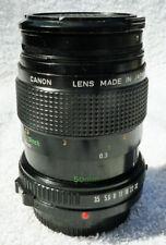 Canon FD 50mm 1:3.5 Macro Lens