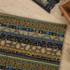 150cm*50cm Tribal Ethnic  Quarters Bundle Sewing Cotton Linen Quilt Fabric DIY