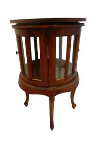 Prachtvoll Beistell Tisch Teeschrank Holztablett Minibar Old Antique Art deco