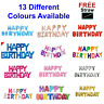 16 inch Letters Self Inflating Straw Happy Birthday Foil Banner Balloons Baloons