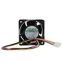 For SUNON PSD1206PMV3-A 60*60*38mm 12V 3.4W Cooling Fan for DELL Server