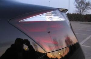 PRECUT SMOKE TINT OVERLAYS w/REVERSE CUTOUT FOR 08-10 ACCORD COUPE TAILLIGHT