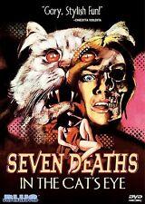 Seven Deaths in the Cats Eye DVD Jane Birkin (Blue Underground) NEW/SEALED