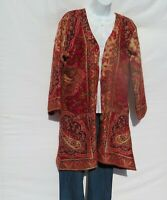 Kimono Jacket|Kashmir|Boho|60s|Designer|3/4 Sleeve|Handloomed|Yak+Sheep Wool|XXL