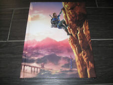 NEW The Legend of ZELDA Breath of the Wild Collector's Edition HC Strategy Guide