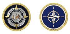 "NATO WORLD HEADQUARTERS EUROPEAN COMMAND 1.75 "" CHALLENGE COIN"