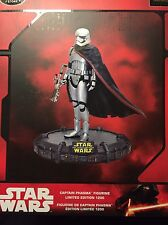 CAPTAIN PHASMA FIGURINE, Star Wars, Disney Store, LIMITED EDITION