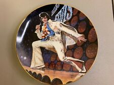 """Elvis in Concert """"Aloha From Hawaii"""" Plate Royal Orleans (1983)"""